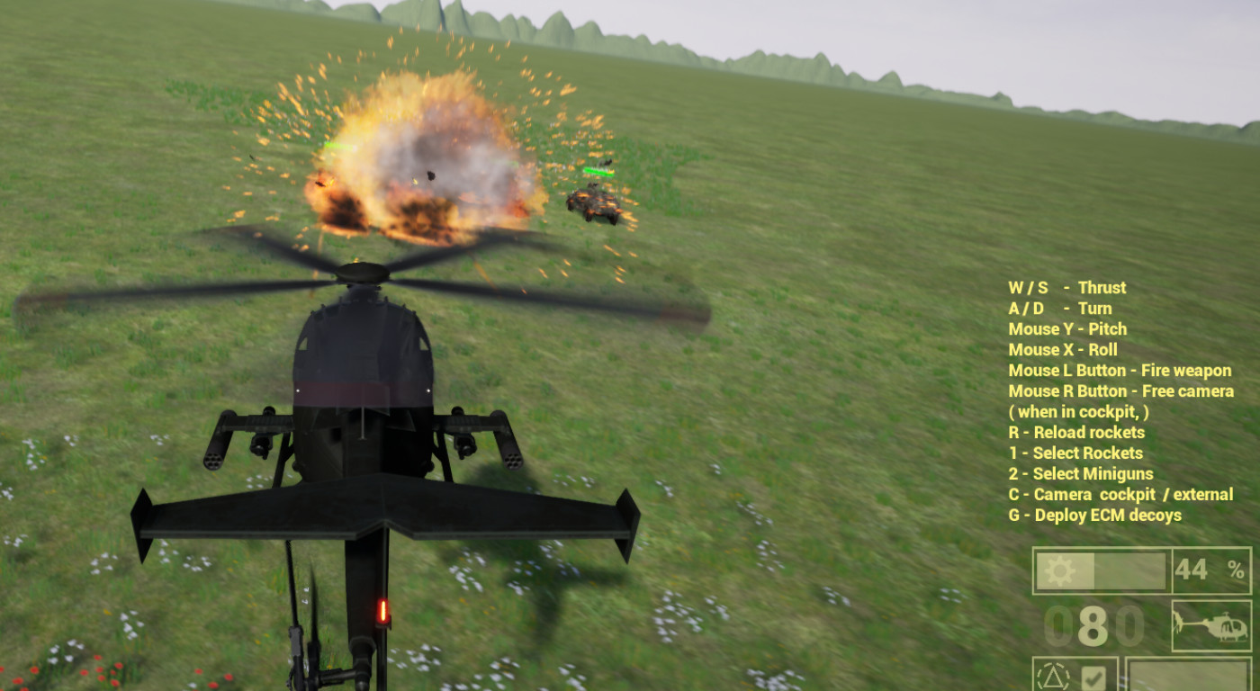 Helicopter Simulator 2020